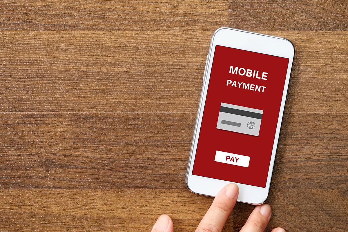 telefon z aplikacją